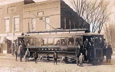 Kingman Interurban - C. & S. W. R. R. Co. image. Click for full size.