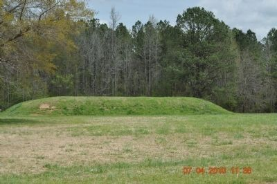 Bear Creek Mound Marker image. Click for full size.