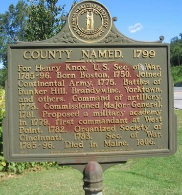County Named, 1779 Marker image. Click for full size.