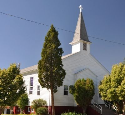Copperton Community Methodist Church image. Click for full size.