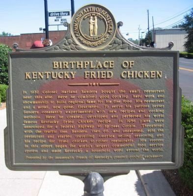 Side B: Birthplace of Kentucky Fried Chicken image, Touch for more information