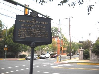 John Dickinson Campus Marker image. Click for full size.