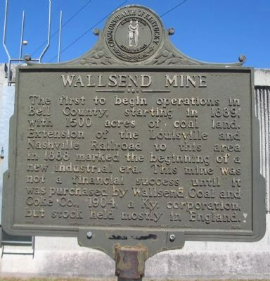 Wallsend Mine Marker image. Click for full size.