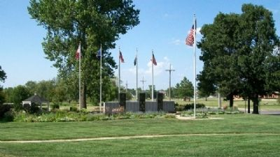 Miami County Veterans Memorial image. Click for full size.