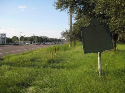 Bruce B. Downs Boulevard Marker image. Click for full size.