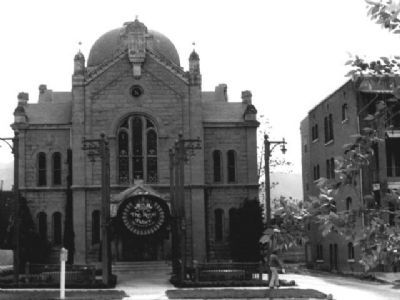 B'nai Israel Temple image. Click for full size.
