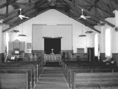 Copperton Community Methodist Church Interior image. Click for full size.