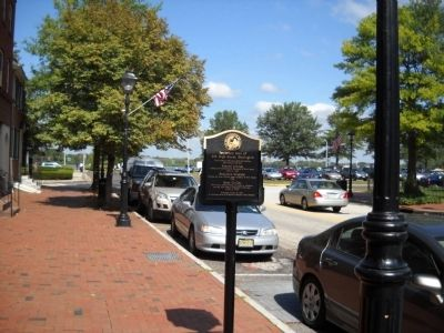 Marker in Burlington image. Click for full size.