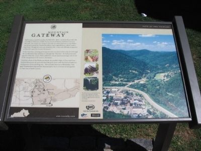 Mountain Gateway Marker image. Click for full size.