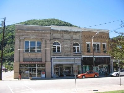 Downtown Pineville image. Click for full size.