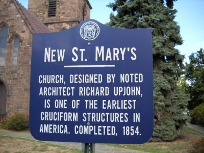 New St. Mary's Marker image. Click for full size.