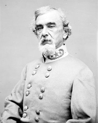 Portrait of Maj. Gen. Benjamin Huger, officer of the Confederate Army image. Click for full size.