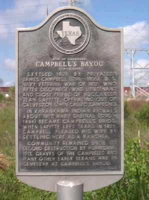 Campbell's Bayou Marker image. Click for full size.
