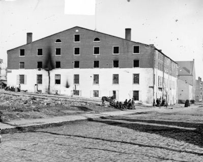 Richmond, Va. Side and rear view of Libby Prison image. Click for full size.
