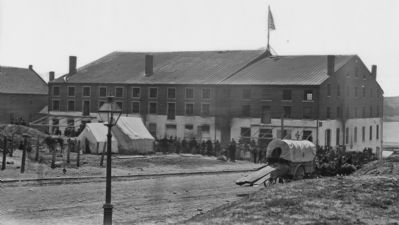 Libby Prison, 1865 image. Click for full size.