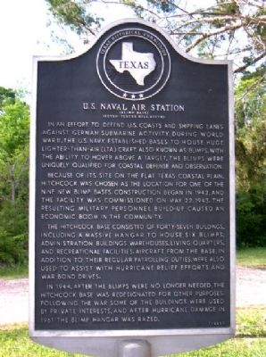 Naval Air Station Marker image. Click for full size.