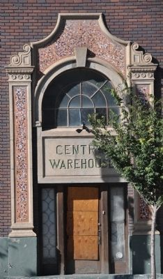 Central Warehouse Building Front Entrance image. Click for full size.
