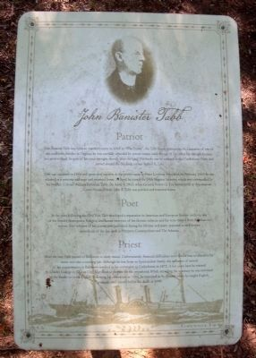 John Banister Tabb sign image. Click for full size.