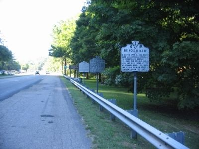 Several Markers at the Gate City Pull-off image. Click for full size.