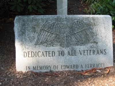 Dedicated to All Veterans Marker image. Click for full size.