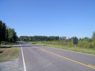 Smiths Neck Rd (facing north) image. Click for full size.