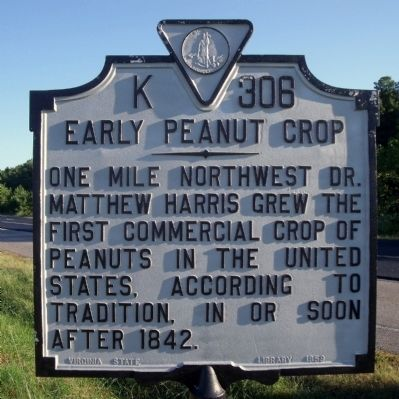 Early Peanut Crop Marker image. Click for full size.
