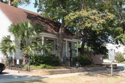 Modjeska Simkins House and Marker image. Click for full size.