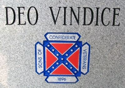 Sons of Confederate Veterans Emblem on Marker image. Click for full size.