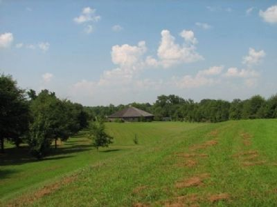Cherokee Council House Museum - View from Oakville Indian Mound image. Click for full size.