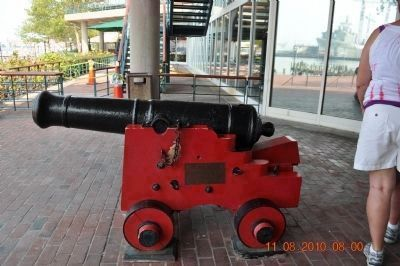 Red Cannon near Joes Crab Shack image. Click for full size.