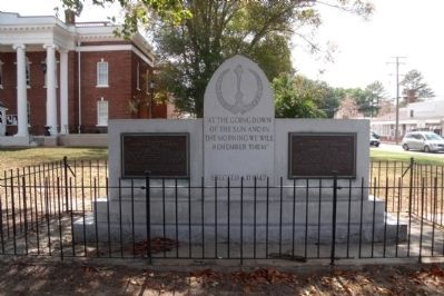 Surry County War Memorial image. Click for full size.