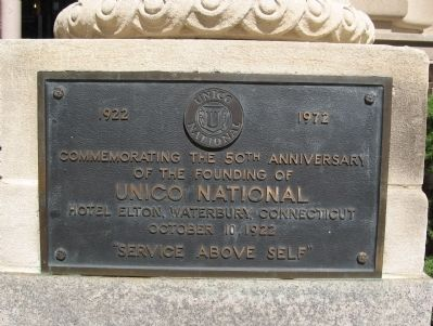 UNICO National Marker image. Click for full size.