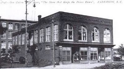 Orr Cotton Mills Store image. Click for full size.