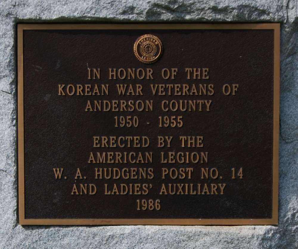 Korean War Veterans Marker