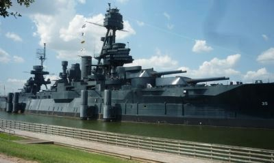 Battleship <i>Texas</i> image. Click for full size.