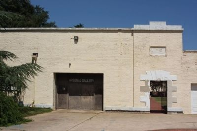 The Augusta Arsenal Southside entrance image. Click for full size.
