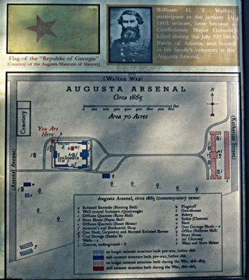 The Augusta Arsenal Marker image. Click for full size.