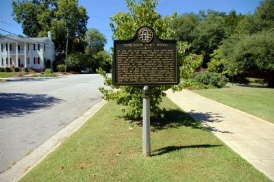 Tomlinson Fort House Marker image. Click for full size.