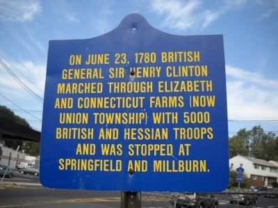 General Sir Henry Clinton Marker image. Click for full size.