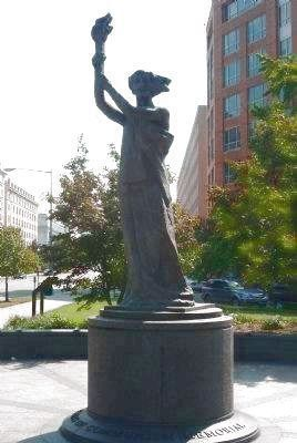 "Victims of Communism Memorial Statue: ""The Goddess of Democracy"" image. Click for full size."