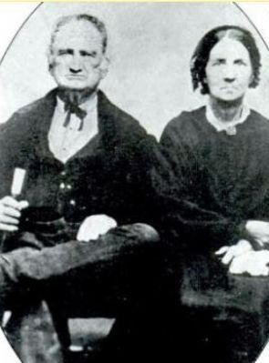 Dr. George Reece Brown (1800-1881) and Maria Louisa Horton image. Click for full size.