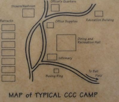 Map of a Typical CCC Camp image. Click for full size.