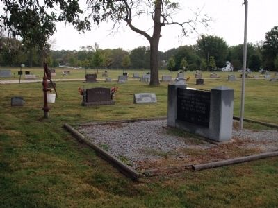 Other View - - Romney Veterans Memorial Marker image. Click for full size.