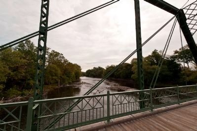 Nevius Street Bridge and Raritan River image. Click for full size.