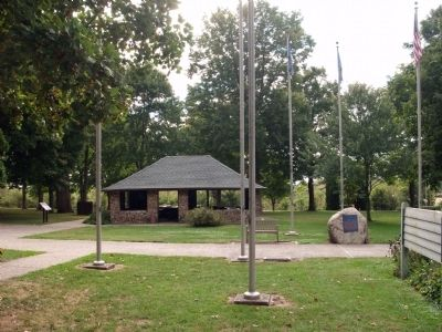 Other View - - The Battle of Tippecanoe Marker image. Click for full size.