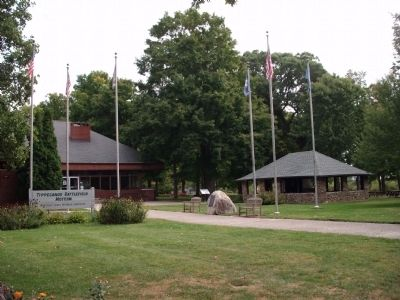 The Battle of Tippecanoe - - Welcome Center image. Click for full size.