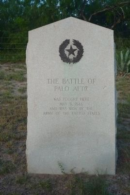 The Battle of Palo Alto Marker image. Click for full size.