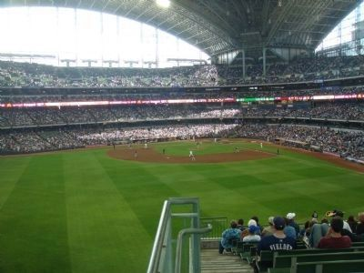 Inside of Miller Park image. Click for full size.