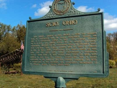 Scio, Ohio Marker image. Click for full size.
