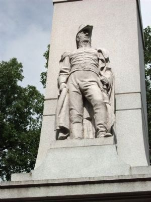 Relief - - General William Henry Harrison image. Click for full size.